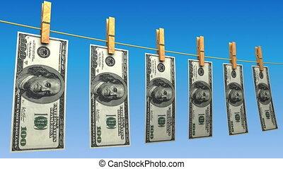 (loop), dollars, sécher