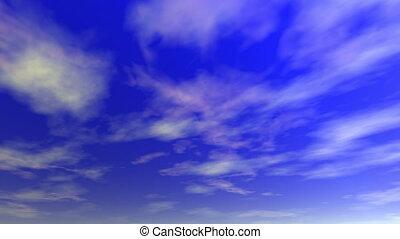 loop), (seamless, nuages