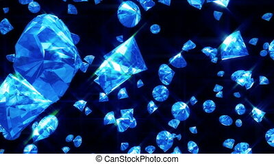 (loop), tomber, noir, diamants