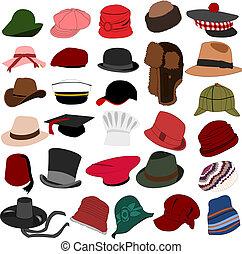 lotissements, chapeaux, ensemble, 04