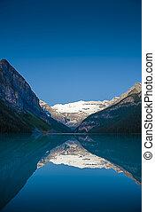 louise, parc national, lac, banff