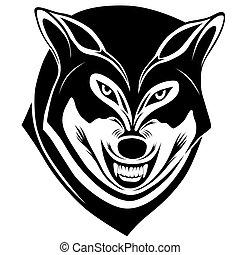 loup, tatouage