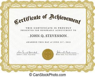 lourd, vecteur, frontière, certificat