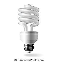 lumière, énergie, économie, ampoule