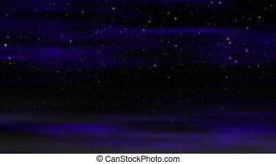 lumière étoiles, boucle