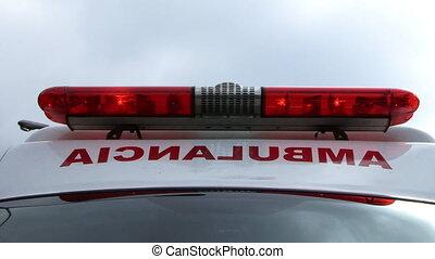 lumière, ambulance