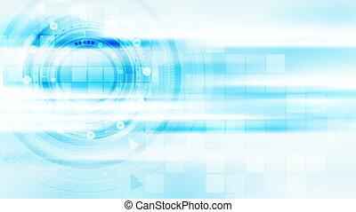 lumière bleue, résumé, animation, vidéo, technologie