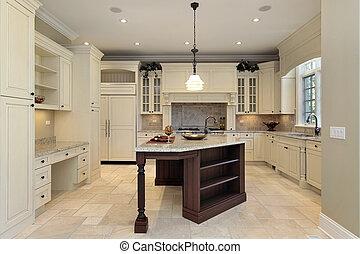 lumière, cabinetry, cuisine