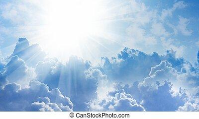 lumière, ciel