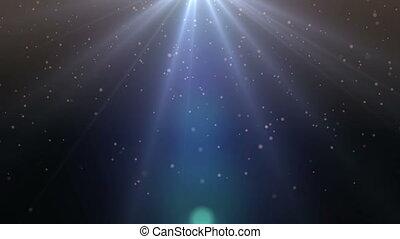 lumière, ciel, particule, rayon