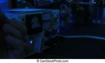 lumière, désactivation, ampoule