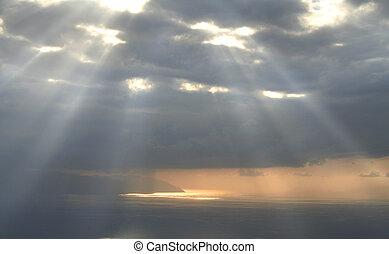 lumière, divin, ciel