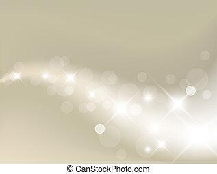 lumière, fond, argent, résumé