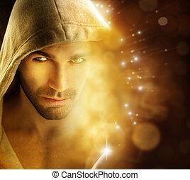 lumière, homme