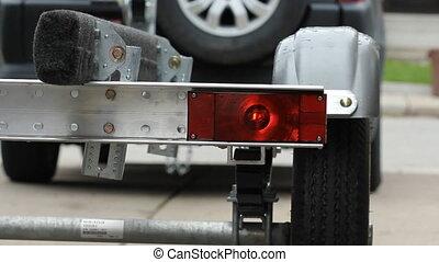 lumière, indicateur, trailer.