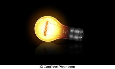 lumière, innovation, ampoule