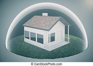 lumière, logement, bulle