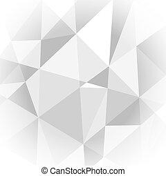 lumière, résumé, gris, fond, géométrique