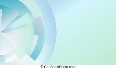 lumière, technologie, animation, engrenage, bleu, diagramme, vidéo