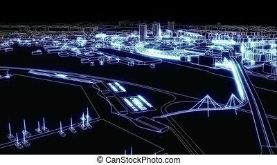 lumière ville