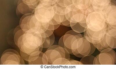 lumières, arbre, noël ornements