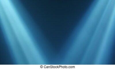 lumières, clair, clignotant, étape