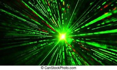 lumières, laser, disco