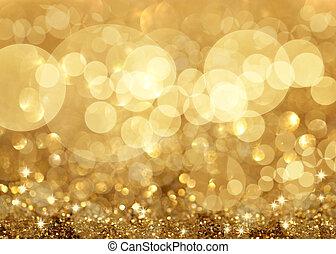 lumières, noël, fond, étoiles, twinkley