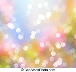 lumières, résumé, fond, scintillement