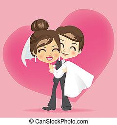 lune miel, amour