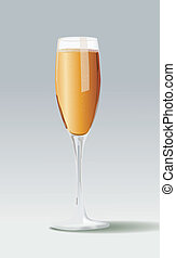 lunettes champagne