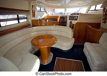luxe, bateau