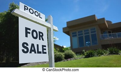 luxe, maison, vente