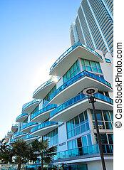 luxueux, condominiums