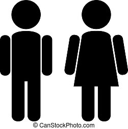 mâle, femme