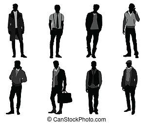 mâle, mode