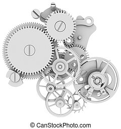 mécanisme, horloge