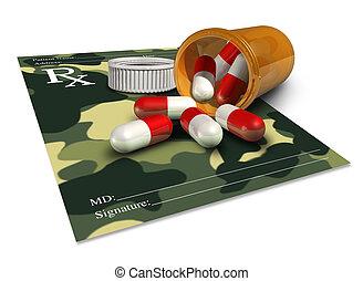 médecine, militaire