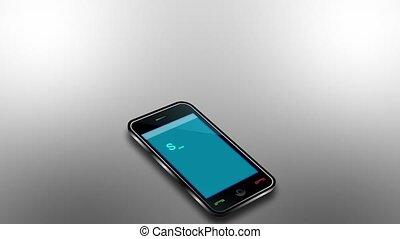 média, téléphone, social