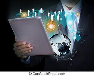 média, technologie, social