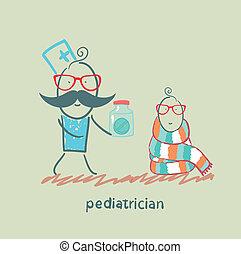 médicament donnant, pédiatre, enfant