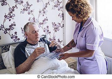 médicament, quotidiennement, dose