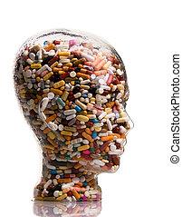 médicaments, remède, tablettes, maladie