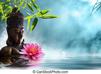 méditation, bouddha