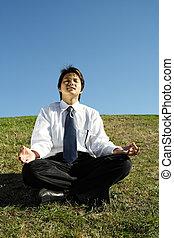 méditation, business