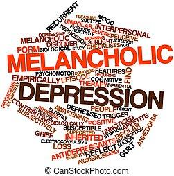 mélancolique, dépression