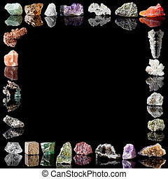 métaux, minéraux, gemstones