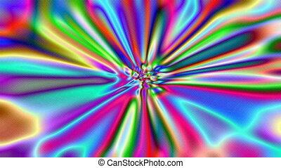 métrage, résumé, lights., fond, multicolore