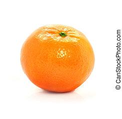 mûre, nourriture, isolé, fruit, fond, blanc, mandarine