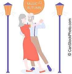 mûrir, danser., couple